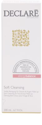 Declaré Allergy Balance gel de limpeza suave para rosto e olhos 2