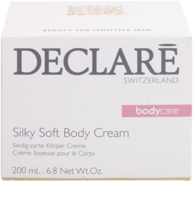 Declaré Body Care копринено нежен крем за тяло 3