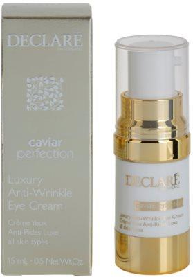 Declaré Caviar Perfection luxuriöse Anti-Falten Creme für die Augenpartien 1