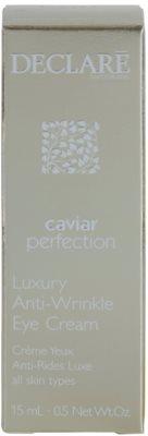 Declaré Caviar Perfection luxuriöse Anti-Falten Creme für die Augenpartien 2