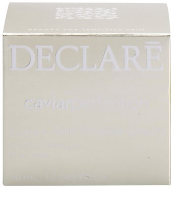 Declaré Caviar Perfection luxuriöse Anti-Falten Creme 3