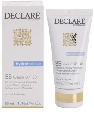 Declaré Hydro Balance crema BB matifianta SPF 30 1