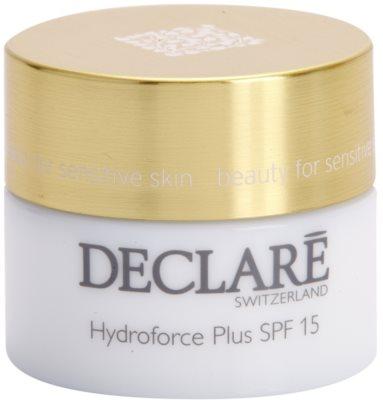 Declaré Hydro Balance creme facial hidratante SPF 15