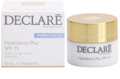 Declaré Hydro Balance crema de fata hidratanta SPF 15 2