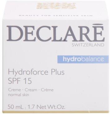 Declaré Hydro Balance crema de fata hidratanta SPF 15 3