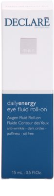 Declaré Men Daily Energy roll-on para contorno de ojos antiarrugas, antibolsas y antiojeras 3