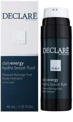 Declaré Men Daily Energy зволожуючий та зміцнюючий флюїд проти розтяжок та зморшок 1