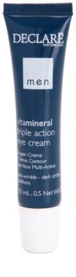 Declaré Men Vita Mineral crema para contorno de ojos antiarrugas, antibolsas y antiojeras