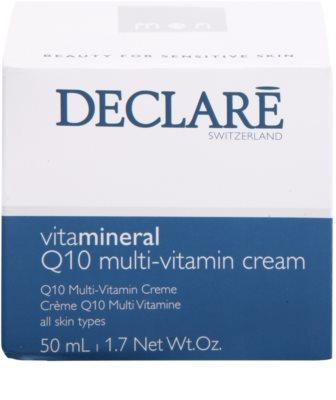 Declaré Men Vita Mineral tápláló multivitaminos krém Q10 3