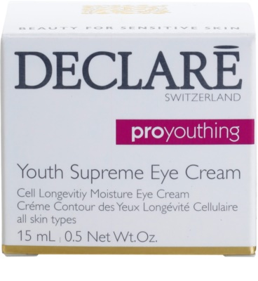 Declaré Pro Youthing Augencreme mit Verjüngungs-Effekt 2