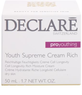 Declaré Pro Youthing hranilna in vlažilna krema za pomladitev kože 3