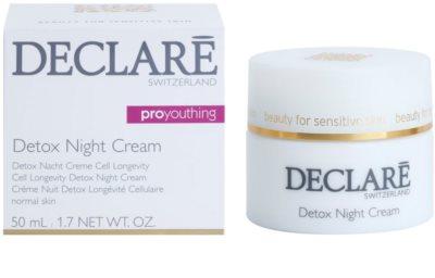 Declaré Pro Youthing detoxikáló éjszakai krém 1