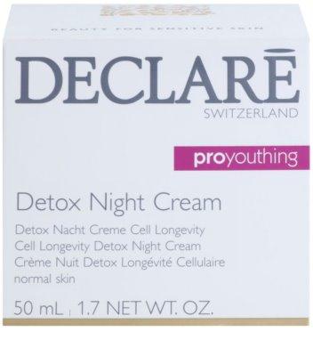 Declaré Pro Youthing detoxikáló éjszakai krém 2