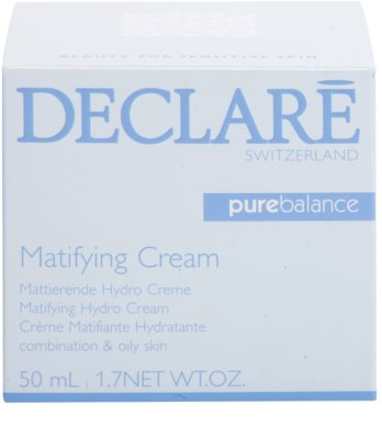 Declaré Pure Balance crema matificante hidratante para pieles mixtas y grasas 3