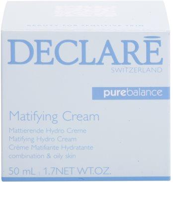 Declaré Pure Balance crema matifianta si hidratanta pentru ten mixt si gras 3