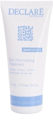 Declaré Pure Balance crema normalizante para reducir la producción de grasa y suavizar poros