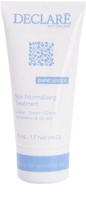 Declaré Pure Balance нормалізуючий крем для зменшення виділення себуму та звуження пор