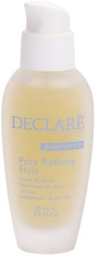 Declaré Pure Balance fluido para reduzir a produção de sebo e reduzir os poros do rosto
