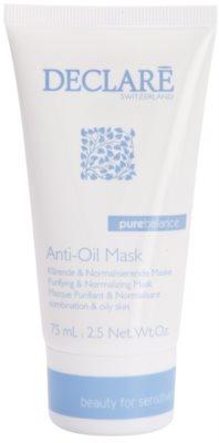 Declaré Pure Balance čisticí maska na redukci mastnoty pleti