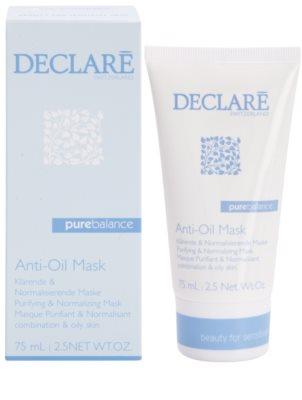 Declaré Pure Balance čistilna maska za redukcijo mastne kože 1