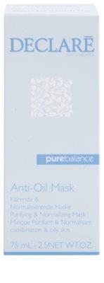 Declaré Pure Balance tisztító maszk a zsíros bőr redukálására 2