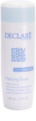 Declaré Pure Balance Astringent-Reinigungstonikum  zur Porenverfeinerung und für ein mattes Aussehen der Haut