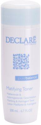 Declaré Pure Balance tonik oczyszczający do ściągnięcia porów i nadania skórze matowego wyglądu