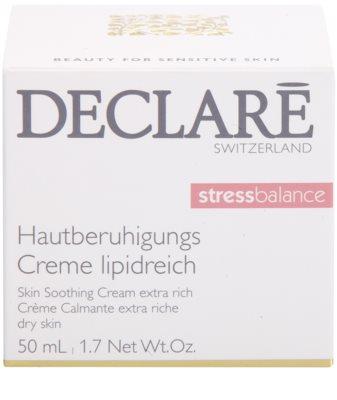 Declaré Stress Balance заспокоюючий поживний крем для сухої та подразненої шкіри 3