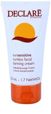 Declaré Sun Sensitive crema autobronzanta pentru fata