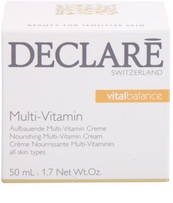 Declaré Vital Balance creme nutritivo multivitamínico 3