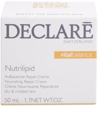 Declaré Vital Balance tápláló megújító krém a száraz és irritált bőrre 3