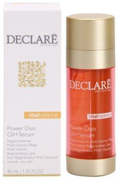 Declaré Vital Balance tratamiento regenerador multivitamínico para pieles normales y secas 2