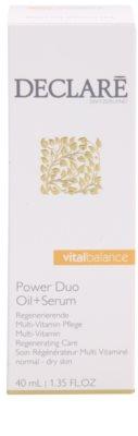 Declaré Vital Balance tratamiento regenerador multivitamínico para pieles normales y secas 3