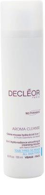Decléor Aroma Cleanse розгладжуюча та очищаюча пінка 3в1