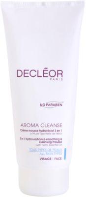 Decléor Aroma Cleanse espuma de limpeza hidratante espuma de limpeza hidratante 3 em 1