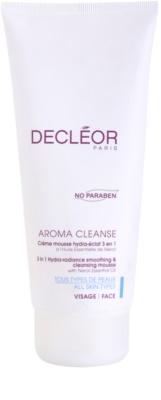 Decléor Aroma Cleanse vlažilna čistilna pena 3v1