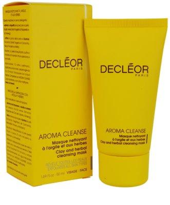 Decléor Aroma Cleanse čistilna maska za vse tipe kože 1