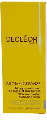 Decléor Aroma Cleanse čistilna maska za vse tipe kože 2