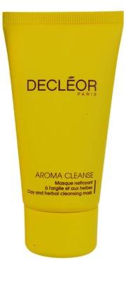 Decléor Aroma Cleanse masca pentru toate tipurile de ten