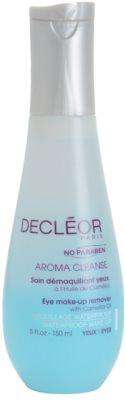 Decléor Aroma Cleanse двуфазен продукт за отстраняване на грим от очите без парабени