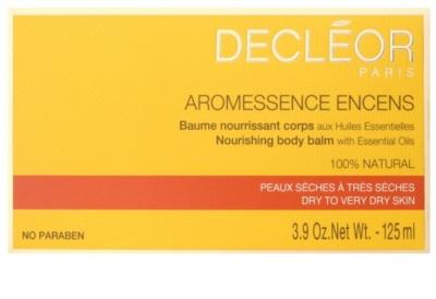Decléor Aromessence Encens bálsamo corporal nutritivo 2