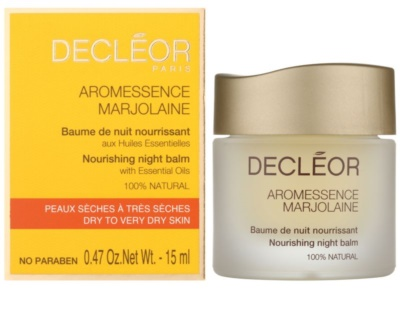 Decléor Aromessence Marjolaine nährender Balsam für die Nacht 1