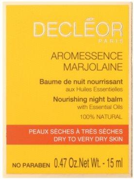 Decléor Aromessence Marjolaine nährender Balsam für die Nacht 2