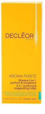 Decléor Aroma Pureté čisticí a okysličující maska 2 v 1 3