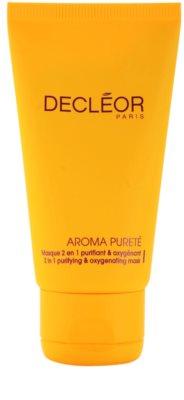 Decléor Aroma Pureté почистваща и кислородна маска 2 в 1