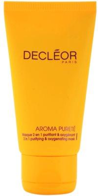 Decléor Aroma Pureté reinigende Maske mit Sauerstoff 2in1