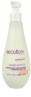 Decléor Aroma Confort leite corporal para pele seca