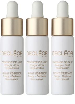 Decléor Night Essence tratamiento intensivo de noche  para reafirmar la piel