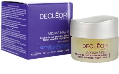Decléor Aroma Night vyživující noční balzám pro všechny typy pleti 2