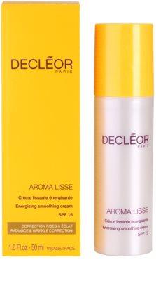 Decléor Aroma Lisse crema de zi energizanta SPF 15 3